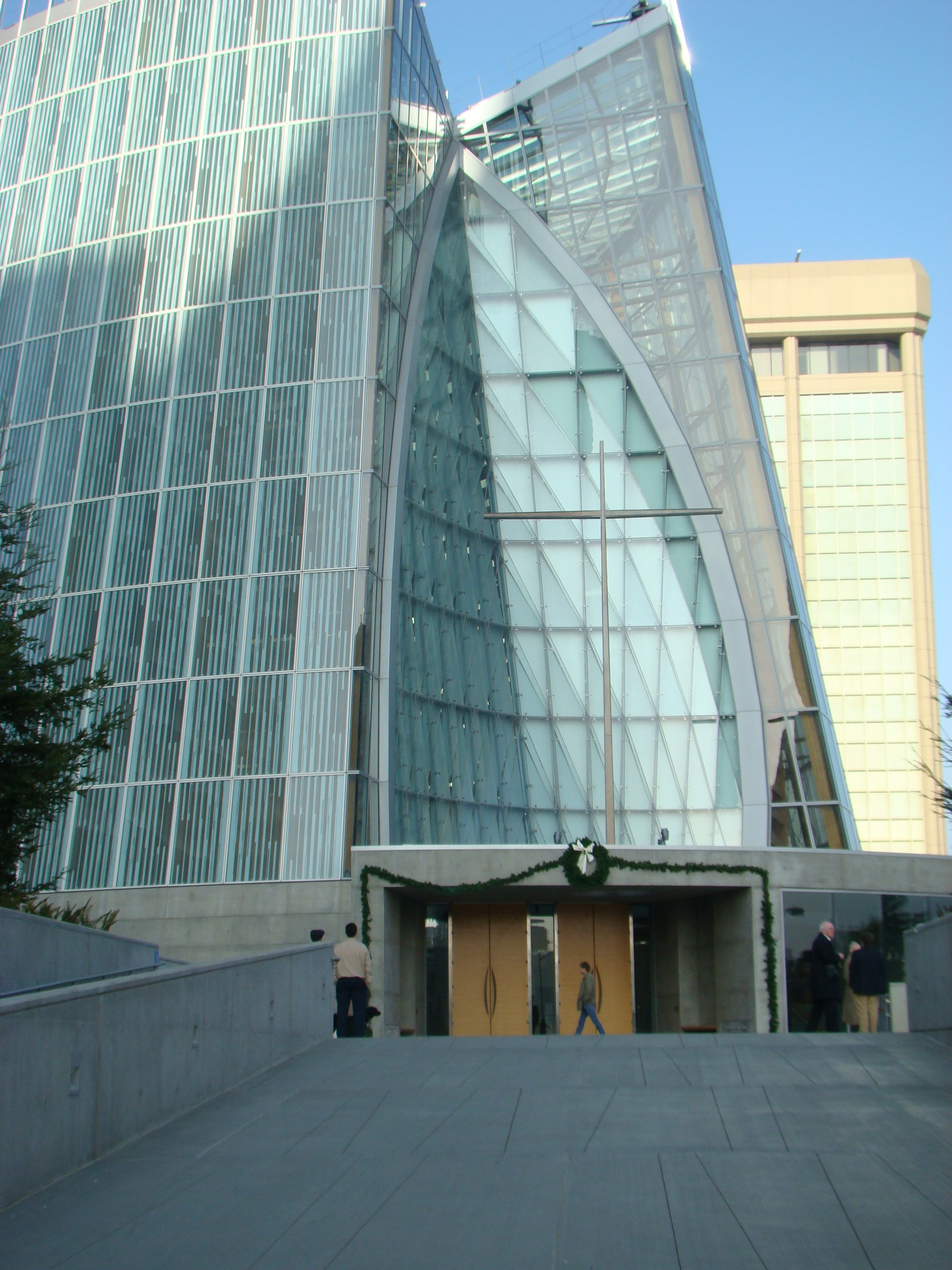 Cathedral of Christ the Light - entrance
