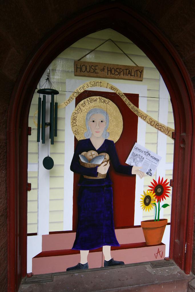 dorothy day door