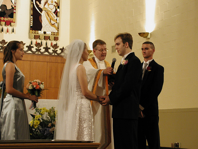Wedding vows, May 26, 2001