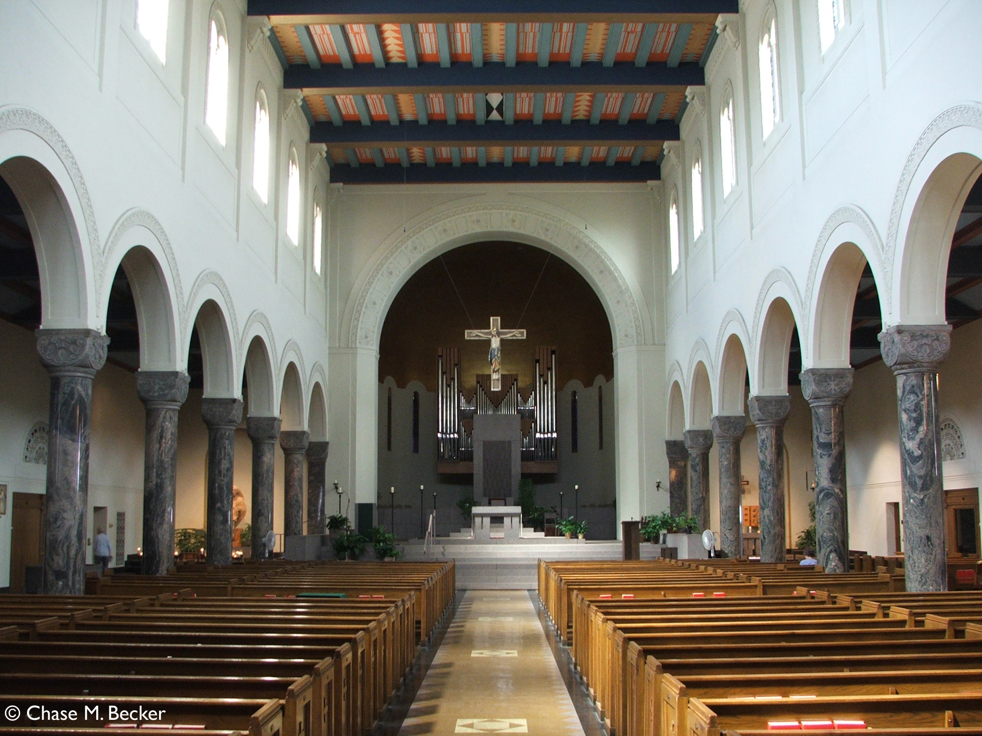 a newly refurbished interior for st mary cathedral in st cloud mn praytellblog