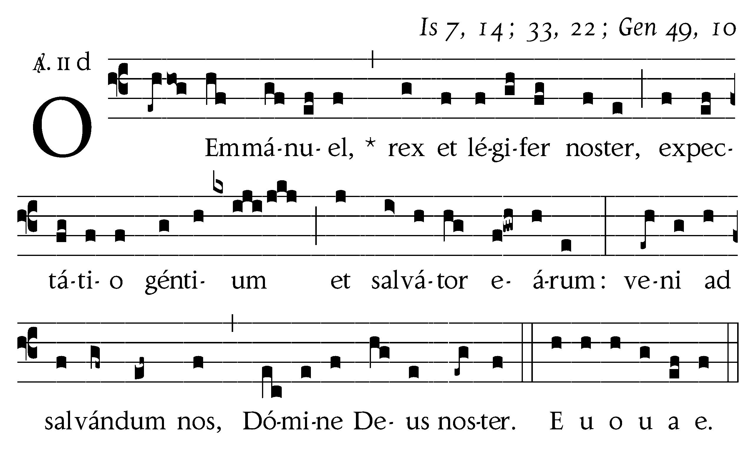O Emmanuel copy