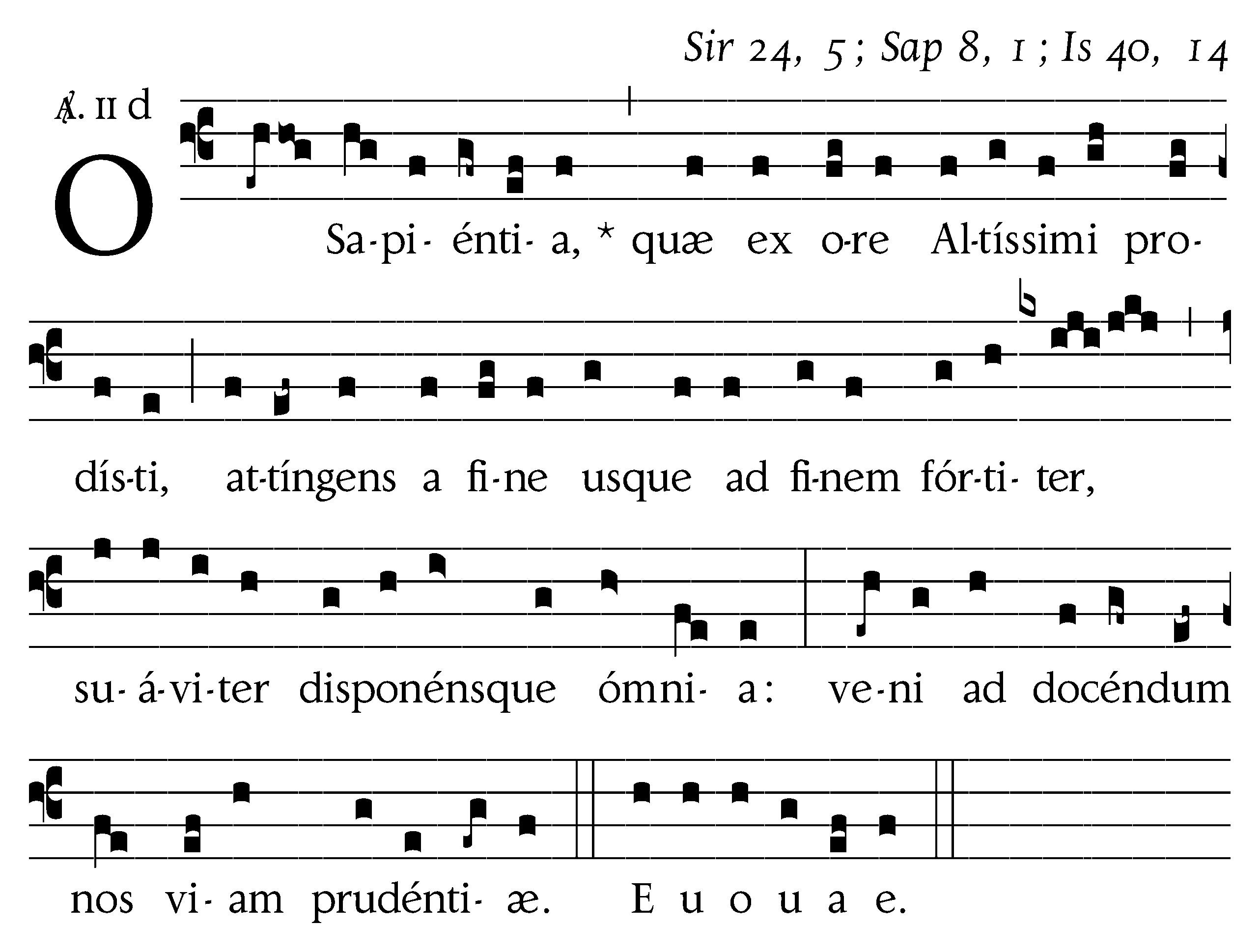 O Sapientia copy