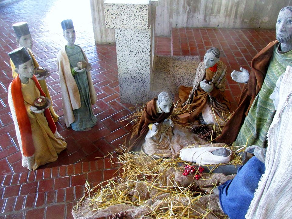 Epiphany display, Saint John's Abbey Church, Collegeville.