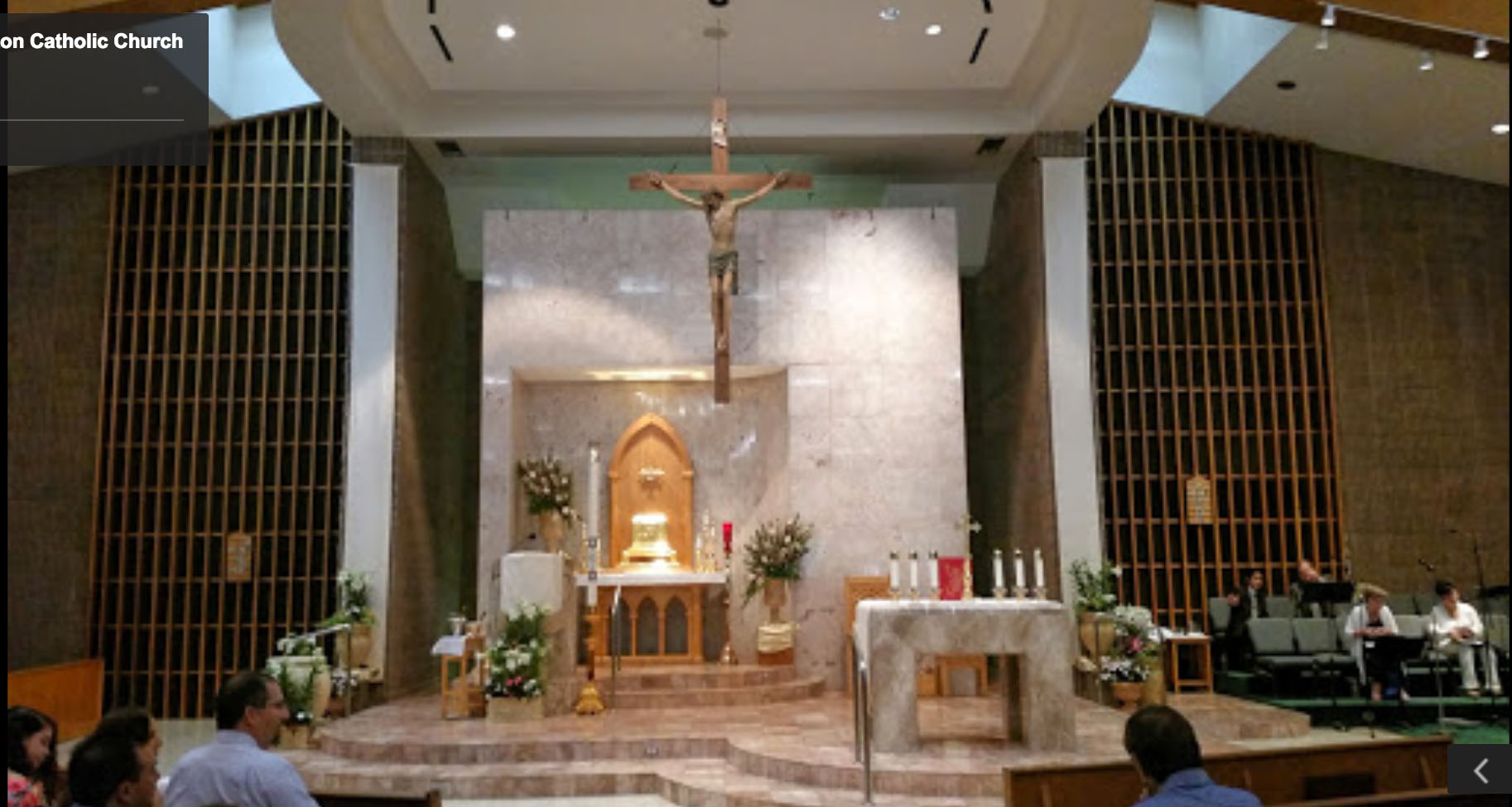 Altar Before And After St Elizabeth Ann Seton In Houston Tx