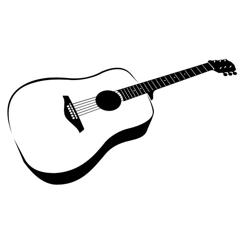 Classical-Acoustic-Guitar-vector28445