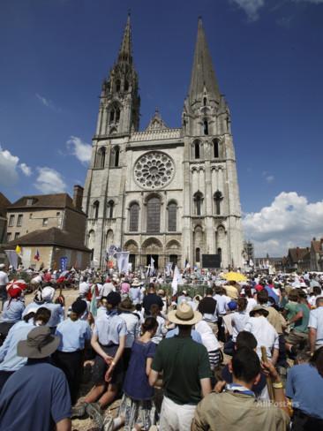 pilgrimage Chartres