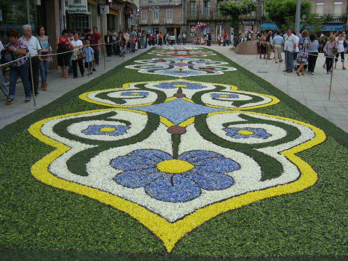 Flower mat Brazil