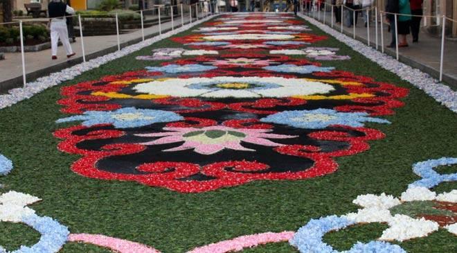Flower mat Galicia