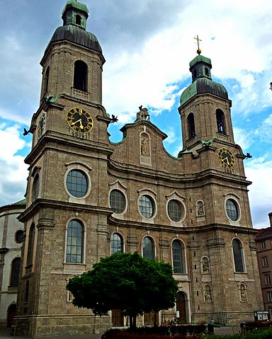 Innsbruck Cathedral (Wikimedia Commons)