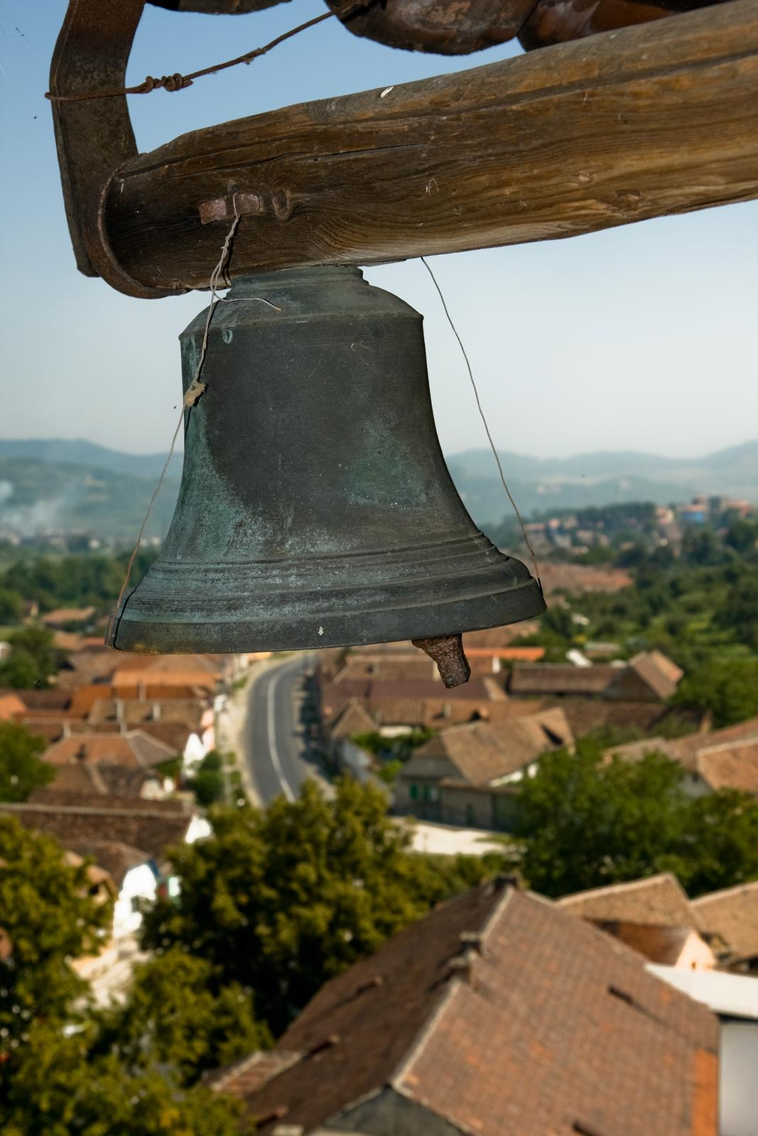 """The smaller bell from Slimnic's fortified church"" by Horia Varlan is licensed under CC BY 2.0"