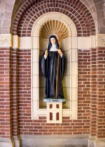 St.Hildegard Statue