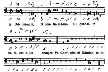 Graduale Novum. Editio magis critica iuxta SC 117. Tomus I: De dominicis et festis, p. 234. (c) ConBrio Verlagsgesellschaft/Libreria Editrice Vaticana 2011.