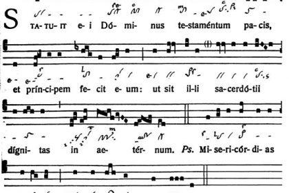 Graduale Novum. Editio magis critica iuxta SC 117. Tomus II: De feriis et sanctis, p. 161. (c) ConBrio Verlagsgesellschaft/Libreria Editrice Vaticana 2018.