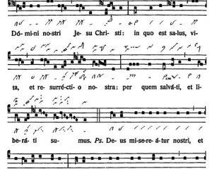 Graduale Novum. Editio magis critica iuxta SC 117. Tomus I: De dominicis et festis, p. 128. (c) ConBrio Verlagsgesellschaft/Libreria Editrice Vaticana 2011.