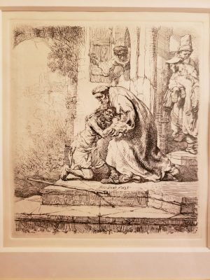 Another Rembrandt Thoughts On The Prodigal Son Praytellblog