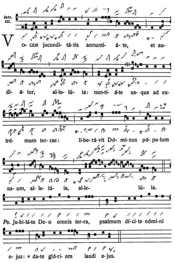 Graduale Novum. Editio magis critica iuxta SC 117. Tomus I: De dominicis et festis, p. 202-203. (c) ConBrio Verlagsgesellschaft/Libreria Editrice Vaticana 2011.