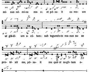 Graduale Novum. Editio magis critica iuxta SC 117. Tomus II: De feriis et sanctis, p. 260-261. (c) ConBrio Verlagsgesellschaft/Libreria Editrice Vaticana 2018.
