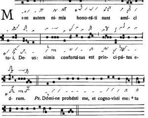 Graduale Novum. Editio magis critica iuxta SC 117. Tomus II: De feriis et sanctis, p. 143-144. (c) ConBrio Verlagsgesellschaft/Libreria Editrice Vaticana 2018.