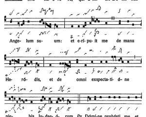 Graduale Novum. Editio magis critica iuxta SC 117. Tomus II: De feriis et sanctis, p. 265. (c) ConBrio Verlagsgesellschaft/Libreria Editrice Vaticana 2018.