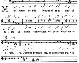 Graduale Novum. Editio magis critica iuxta SC 117. Tomus II: De feriis et sanctis, p. 260-143-144. (c) ConBrio Verlagsgesellschaft/Libreria Editrice Vaticana 2018.