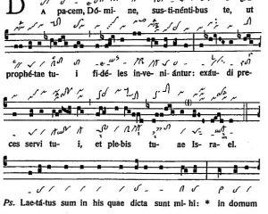 Graduale Novum. Editio magis critica iuxta SC 117. Tomus I: De dominicis et festis, p. 325-326. (c) ConBrio Verlagsgesellschaft/Libreria Editrice Vaticana 2011.