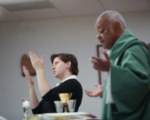 Archbishop Wilton Gregory celebrates Mass at St. Francis of Assisi Deaf Catholic Church