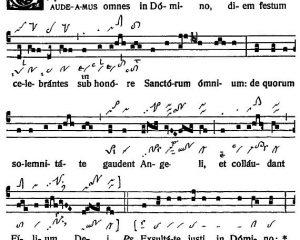 Graduale Novum. Editio magis critica iuxta SC 117. Tomus I: De dominicis et festis, p. 401-402.