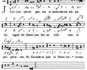 Graduale Novum. Editio magis critica iuxta SC 117. Tomus II: De feriis et sanctis, p. 143. (c) ConBrio Verlagsgesellschaft/Libreria Editrice Vaticana 2018.