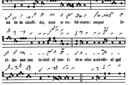 Graduale Novum. Editio magis critica iuxta SC 117. Tomus I: De dominicis et festis, p. 3. (c) ConBrio Verlagsgesellschaft/Libreria Editrice Vaticana 2011.