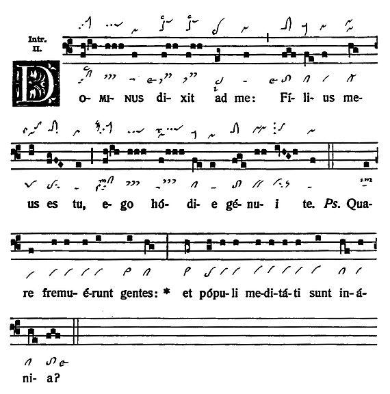 Graduale Novum. Editio magis critica iuxta SC 117. Tomus I: De dominicis et festis, p. 20. (c) ConBrio Verlagsgesellschaft/Libreria Editrice Vaticana 2011.