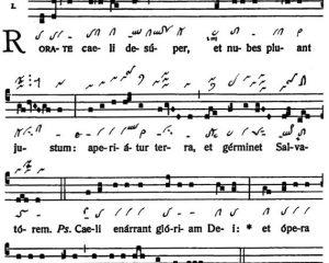 Graduale Novum. Editio magis critica iuxta SC 117. Tomus I: De dominicis et festis, p. 15-16. (c) ConBrio Verlagsgesellschaft/Libreria Editrice Vaticana 2011.